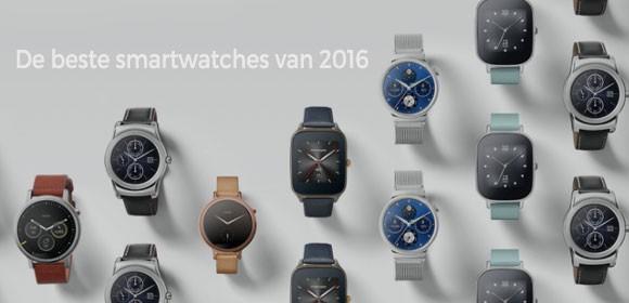 De beste smartwatches vergelijken van 2016