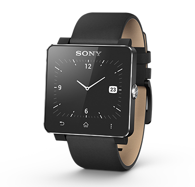 Sony Smartwatch 2 met lederen band