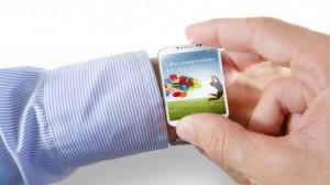 Samsung Smartwatch op basis van de styling van de Galaxy telefoonlijn