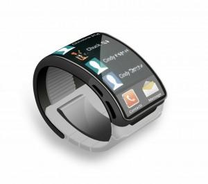 Galaxy Gear concept op basis van de patentaanvragen van Samsung