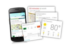 Google Cards voor smartwatch