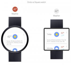 Google Nexus Smartwatch gebaseerd op Google Now