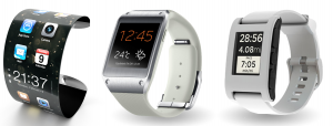 Smartwatches van Apple Samsung en Pebble