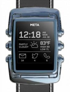 MetaWatch smartwatch