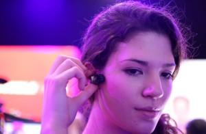 Handsfree bellen is vervolgens eenvoudig, met de huawai earpiece