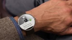 Motorola 360 notificaties