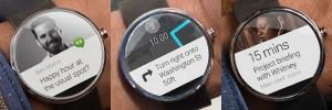Android Wear smartwatch navigatie