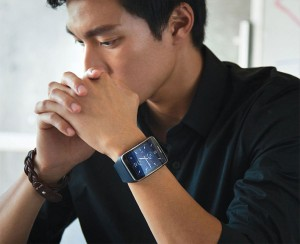Galaxy Gear S om pols